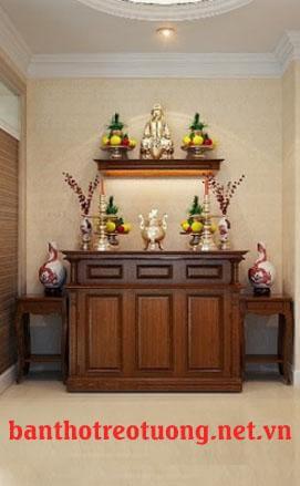 bàn thờ kệ thờ phong thủy